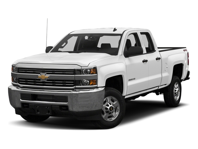 Summit White 2018 Chevrolet Silverado 2500HD Pictures Silverado 2500HD 4WD Double Cab 158.1 LT photos front view