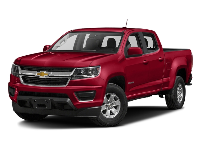 Red Hot 2018 Chevrolet Colorado Pictures Colorado 2WD Crew Cab 128.3 Work Truck photos front view