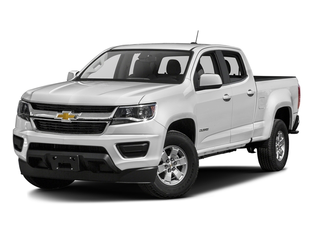 Summit White 2018 Chevrolet Colorado Pictures Colorado 2WD Crew Cab 128.3 Work Truck photos front view