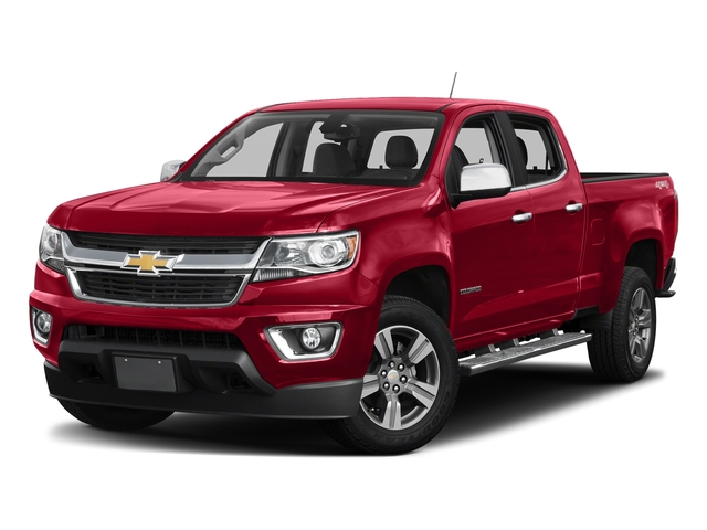 Red Hot 2018 Chevrolet Colorado Pictures Colorado 2WD Crew Cab 140.5 LT photos front view