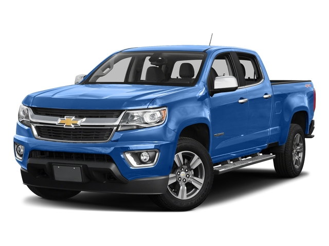 Kinetic Blue Metallic 2018 Chevrolet Colorado Pictures Colorado 2WD Crew Cab 140.5 LT photos front view