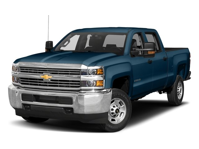 Deep Ocean Blue Metallic 2018 Chevrolet Silverado 2500HD Pictures Silverado 2500HD 4WD Crew Cab 167.7 Work Truck photos front view