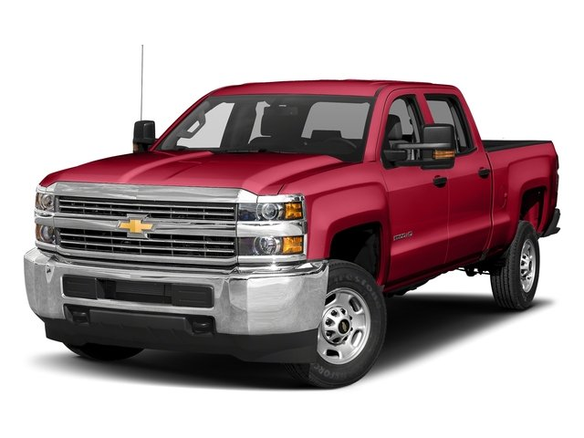 Red Hot 2018 Chevrolet Silverado 2500HD Pictures Silverado 2500HD 4WD Crew Cab 167.7 Work Truck photos front view