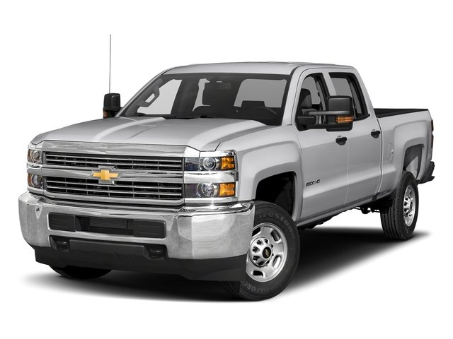 Silver Ice Metallic 2018 Chevrolet Silverado 2500HD Pictures Silverado 2500HD 4WD Crew Cab 167.7 Work Truck photos front view