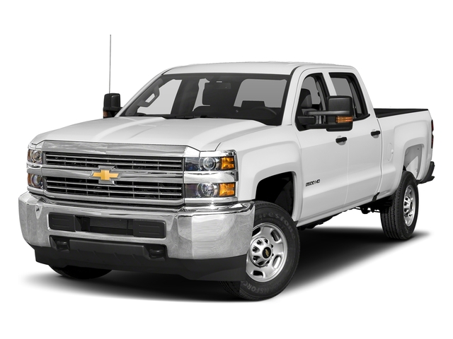 Summit White 2018 Chevrolet Silverado 3500HD Pictures Silverado 3500HD 4WD Crew Cab 153.7 Work Truck photos front view
