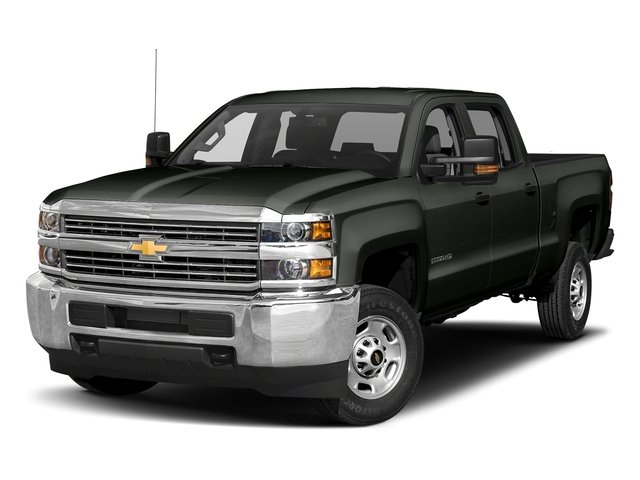 Graphite Metallic 2018 Chevrolet Silverado 2500HD Pictures Silverado 2500HD 4WD Crew Cab 167.7 Work Truck photos front view