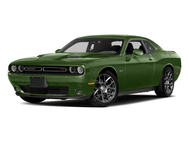 F8 Green 2018 Dodge Challenger Pictures Challenger R/T Shaker RWD photos front view
