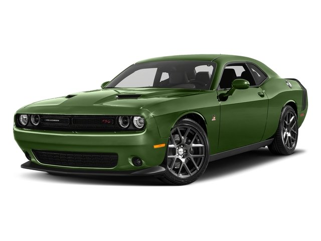 F8 Green 2018 Dodge Challenger Pictures Challenger R/T Scat Pack RWD photos front view