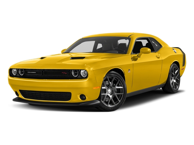 Yellow Jacket Clearcoat 2018 Dodge Challenger Pictures Challenger 392 Hemi Scat Pack Shaker RWD photos front view