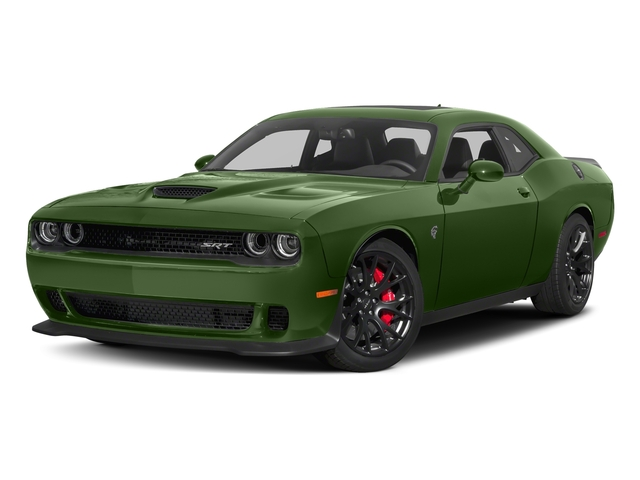 F8 Green 2018 Dodge Challenger Pictures Challenger SRT Hellcat RWD photos front view