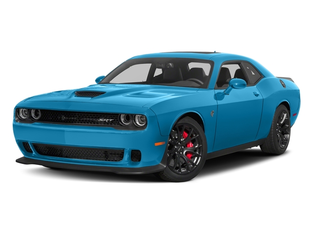 B5 Blue Pearlcoat 2018 Dodge Challenger Pictures Challenger SRT Hellcat Widebody RWD photos front view