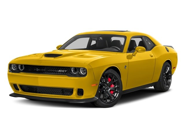 Yellow Jacket Clearcoat 2018 Dodge Challenger Pictures Challenger SRT Hellcat RWD photos front view