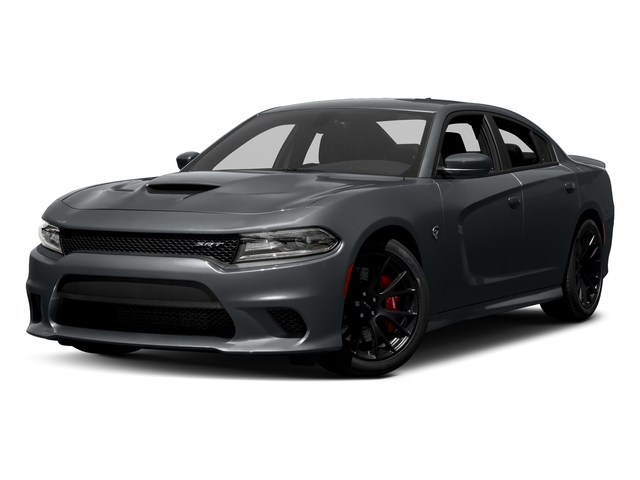 Maximum Steel Metallic Clearcoat 2018 Dodge Charger Pictures Charger SRT Hellcat RWD photos front view