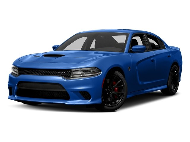 Indigo Blue 2018 Dodge Charger Pictures Charger SRT Hellcat RWD photos front view