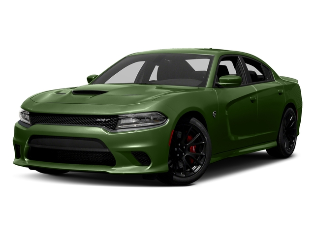 F8 Green 2018 Dodge Charger Pictures Charger SRT Hellcat RWD photos front view