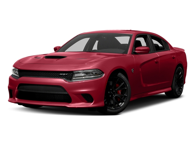 Redline Red Tricoat Pearl 2018 Dodge Charger Pictures Charger SRT Hellcat RWD photos front view