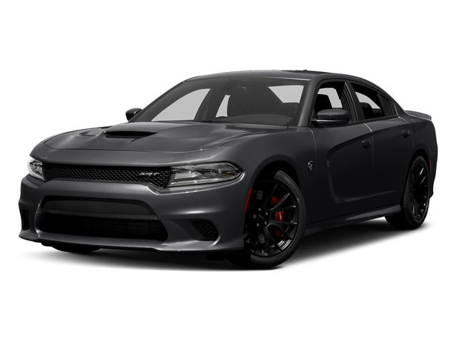 Pitch Black Clearcoat 2018 Dodge Charger Pictures Charger SRT Hellcat RWD photos front view