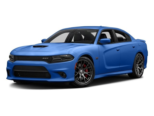 Indigo Blue 2018 Dodge Charger Pictures Charger SRT 392 RWD photos front view