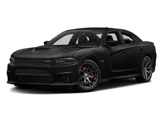Pitch Black Clearcoat 2018 Dodge Charger Pictures Charger SRT 392 RWD photos front view