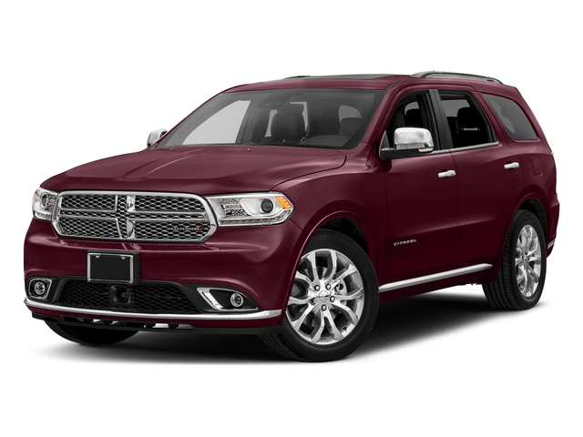 Octane Red Pearlcoat 2018 Dodge Durango Pictures Durango Citadel AWD photos front view