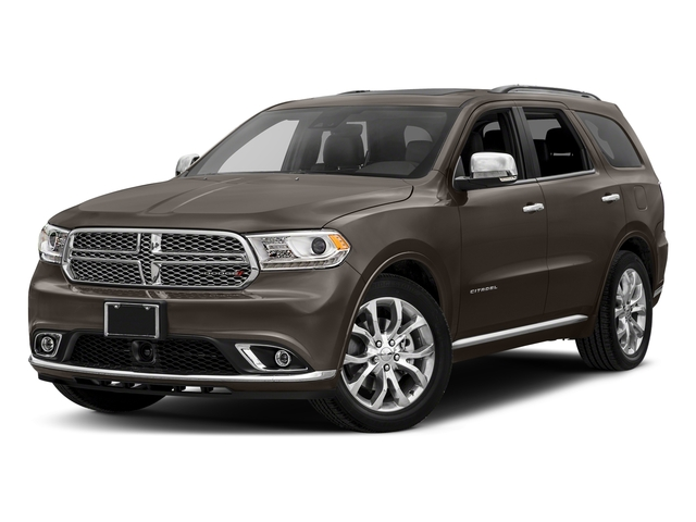 Stout Brown Met. Clearcoat 2018 Dodge Durango Pictures Durango Citadel AWD photos front view