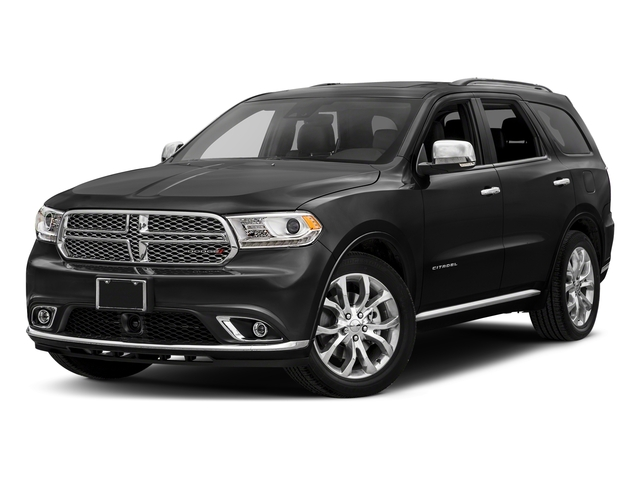 DB Black Clearcoat 2018 Dodge Durango Pictures Durango Citadel AWD photos front view