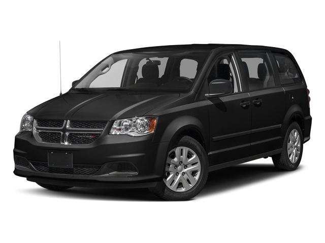 Black Onyx Crystal Pearlcoat 2018 Dodge Grand Caravan Pictures Grand Caravan SE Plus Wagon photos front view