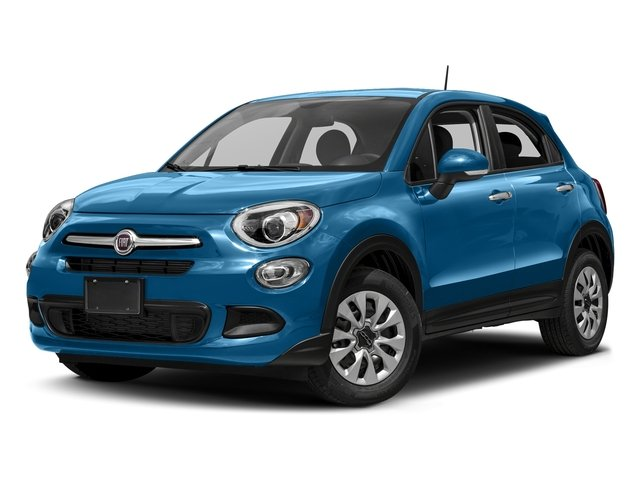 Blue Sky Metallic 2018 FIAT 500X Pictures 500X Lounge FWD photos front view