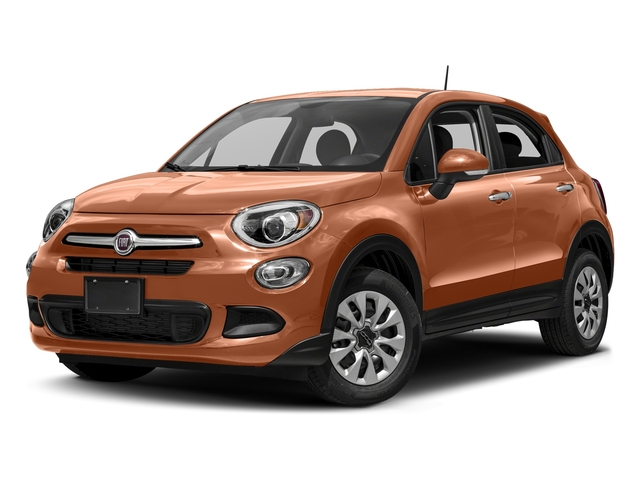 Rame Chiaro (Light Copper) 2018 FIAT 500X Pictures 500X Lounge AWD photos front view