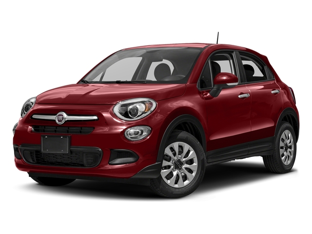Rosso Passione (Red Hypnotique Clear Coat) 2018 FIAT 500X Pictures 500X Utility 4D Trekking 2WD I4 photos front view