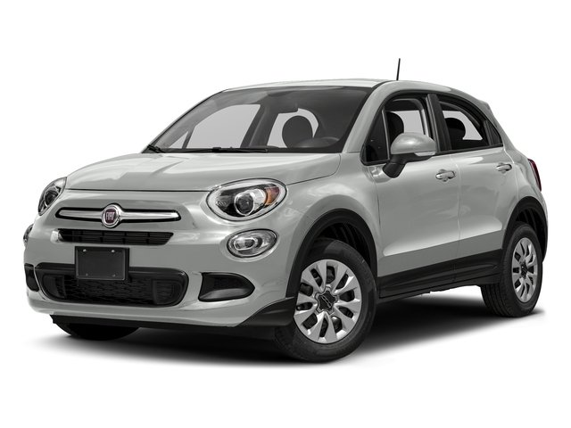 Bianco Gelato (White Clear Coat) 2018 FIAT 500X Pictures 500X Lounge FWD photos front view
