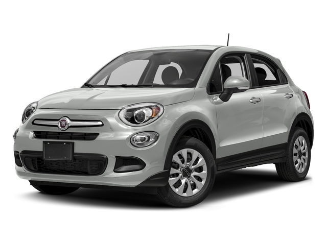 Bianco Gelato (White Clear Coat) 2018 FIAT 500X Pictures 500X Utility 4D Trekking 2WD I4 photos front view
