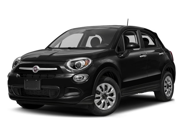 Nero Cinema (Black Clear Coat) 2018 FIAT 500X Pictures 500X Lounge AWD photos front view