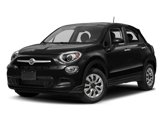 Nero Cinema (Black Clear Coat) 2018 FIAT 500X Pictures 500X Lounge FWD photos front view