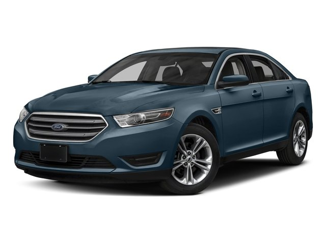 Blue Metallic 2018 Ford Taurus Pictures Taurus Sedan 4D SEL AWD V6 photos front view