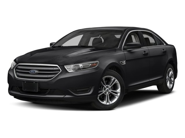 Shadow Black 2018 Ford Taurus Pictures Taurus Sedan 4D SEL AWD V6 photos front view