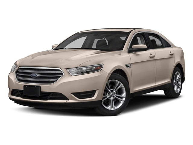White Gold Metallic 2018 Ford Taurus Pictures Taurus Sedan 4D SEL AWD V6 photos front view