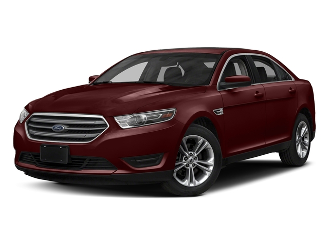 Burgundy Velvet Metallic Tinted Clearcoat 2018 Ford Taurus Pictures Taurus Sedan 4D SEL AWD V6 photos front view