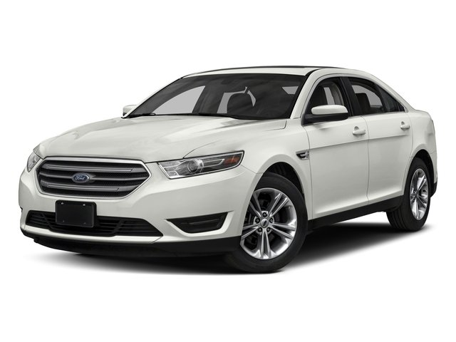 White Platinum Metallic Tri-Coat 2018 Ford Taurus Pictures Taurus Sedan 4D SEL AWD V6 photos front view
