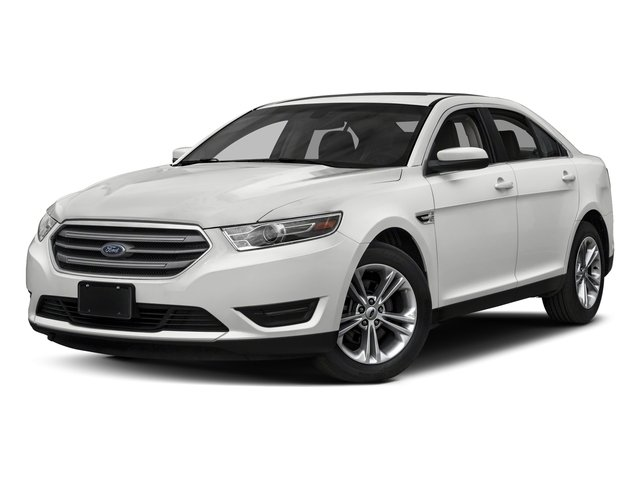 Oxford White 2018 Ford Taurus Pictures Taurus Sedan 4D SE V6 photos front view