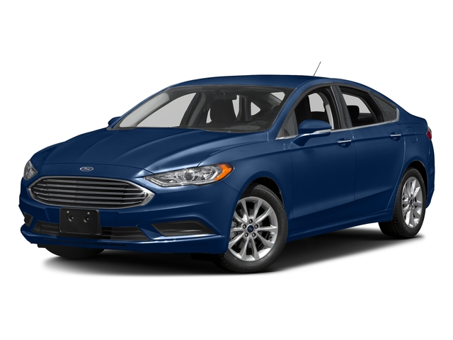 Lightning Blue 2018 Ford Fusion Pictures Fusion SE FWD photos front view