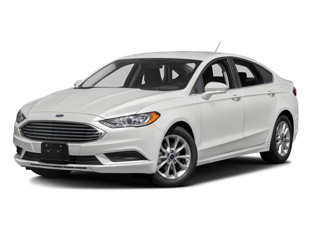 Oxford White 2018 Ford Fusion Pictures Fusion SE FWD photos front view