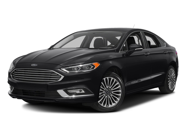 Shadow Black 2018 Ford Fusion Pictures Fusion Titanium AWD photos front view