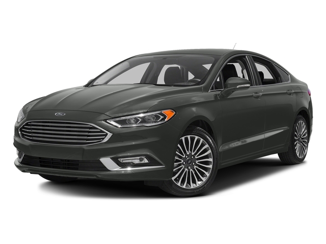 Magnetic Metallic 2018 Ford Fusion Pictures Fusion Titanium AWD photos front view