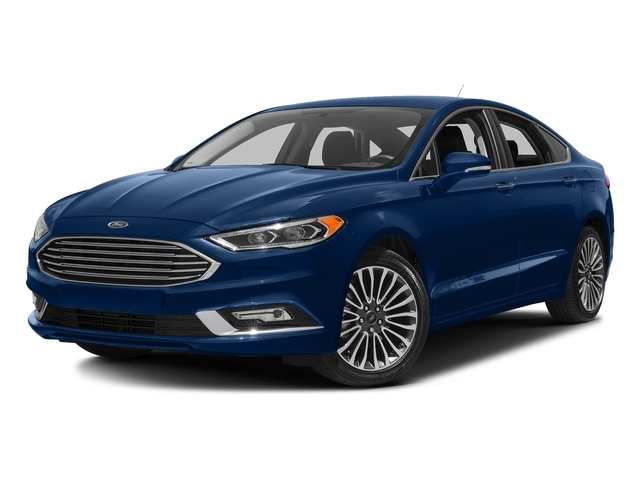 Lightning Blue 2018 Ford Fusion Pictures Fusion Titanium AWD photos front view