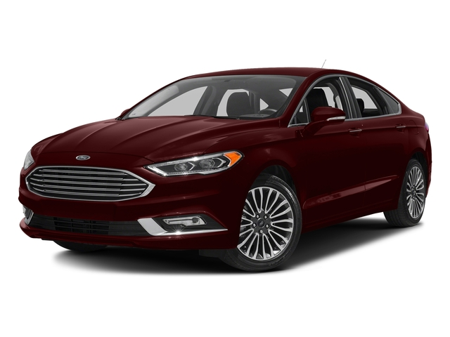 Burgundy Velvet Metallic Tinted Clearcoat 2018 Ford Fusion Pictures Fusion Titanium AWD photos front view