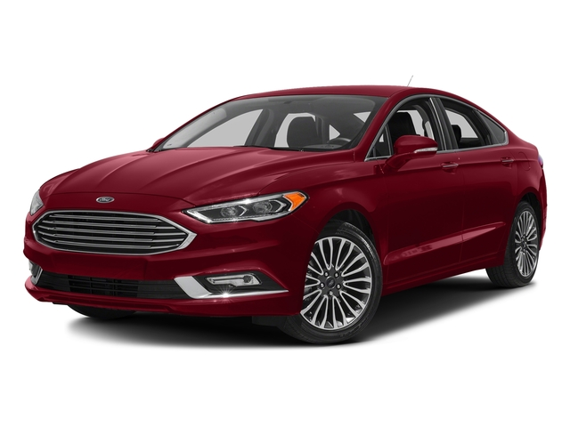 Ruby Red Metallic Tinted Clearcoat 2018 Ford Fusion Pictures Fusion Titanium AWD photos front view