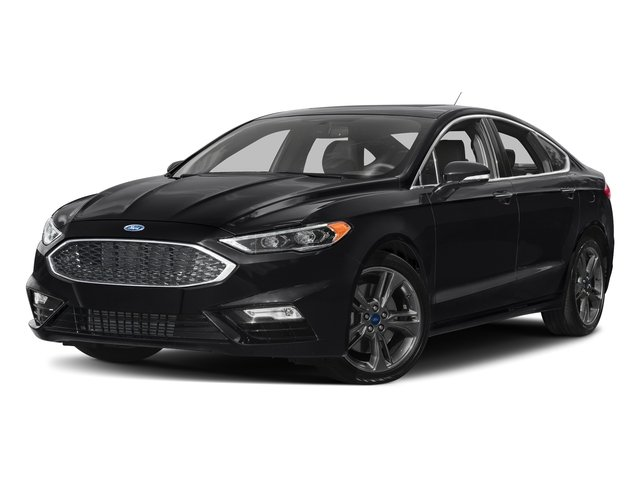 Shadow Black 2018 Ford Fusion Pictures Fusion Sport AWD photos front view