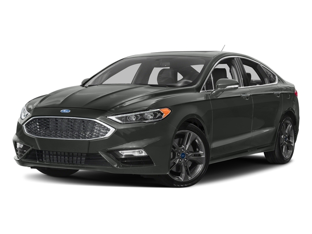 Magnetic Metallic 2018 Ford Fusion Pictures Fusion Sport AWD photos front view
