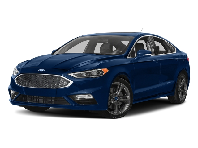 Lightning Blue 2018 Ford Fusion Pictures Fusion Sport AWD photos front view